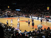 Match NBA au Madison Square Garden